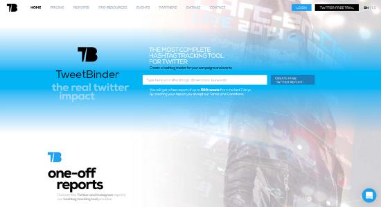 Twitter tool Tweet Binder
